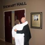 Stewart Hall at the O.C.C. Dedication