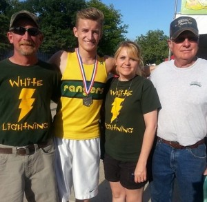 Niemann Excels in the OHSAA D-1 400m