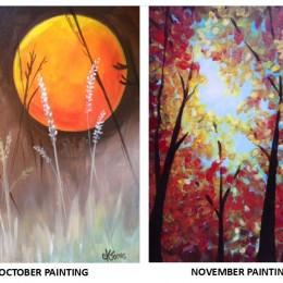 Upcoming Paint Nights