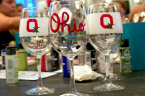 *DATE CHANGE Glassware Painting at the OCC – May 18th, 2016