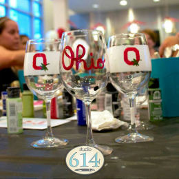 Glassware Painting at the OCC
