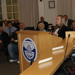 State Representative Heather Bishoff Swears in Mayor Scott and Reelected Council Members