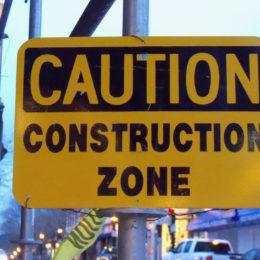 Groveport Road bridge construction