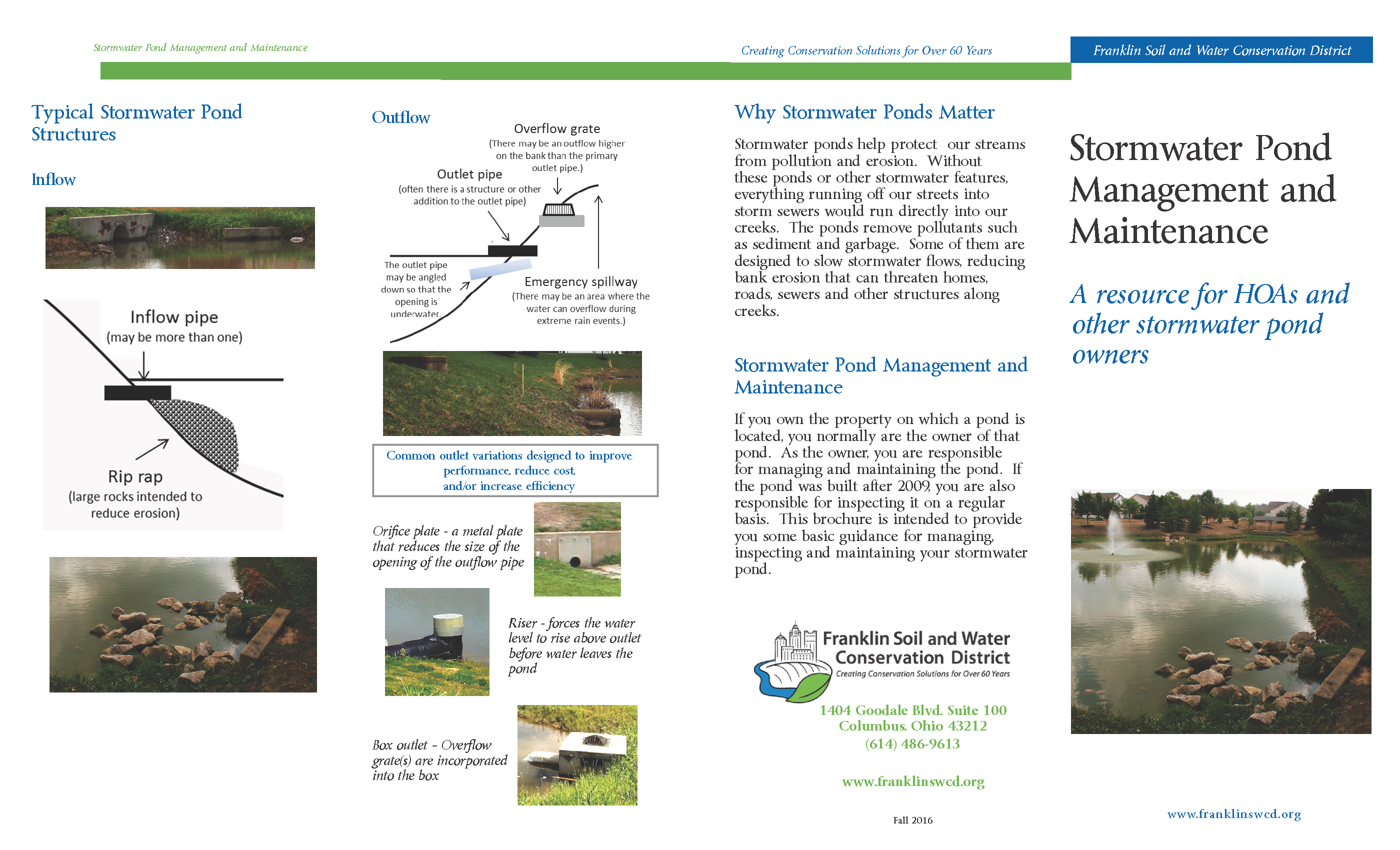How much do you know about stormwater ponds? - Village of Obetz